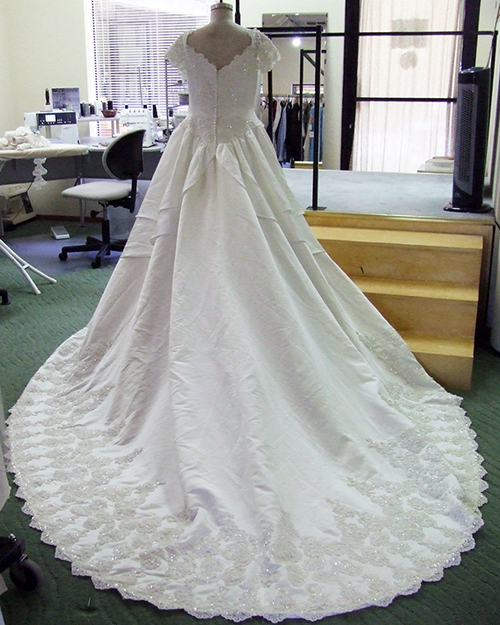 Amber Wedding Gown 2012