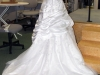 Before ~ Wedding Gown Bustle 2010