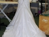 Before ~ Back of Wedding Gown