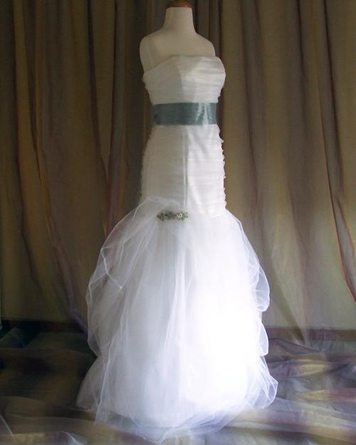 Custom Wedding Gown Sample 2012