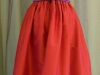 Custom Silk Dress Back View