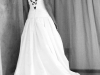 Pam Wedding Gown Back View