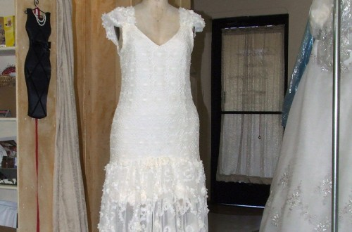Vintage Wedding Dress Updated