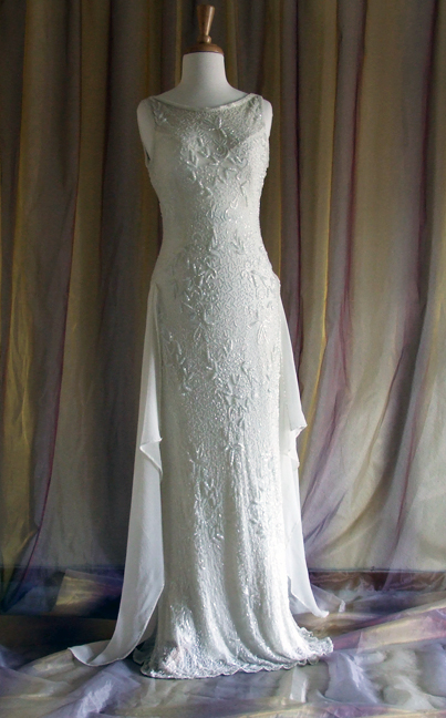 Restyled Vintage Wedding Dress