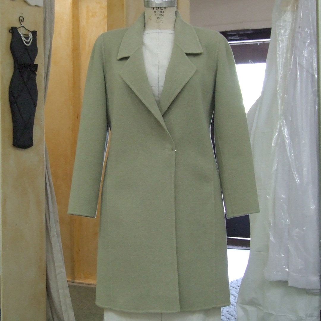 Double Cloth Coat Hem