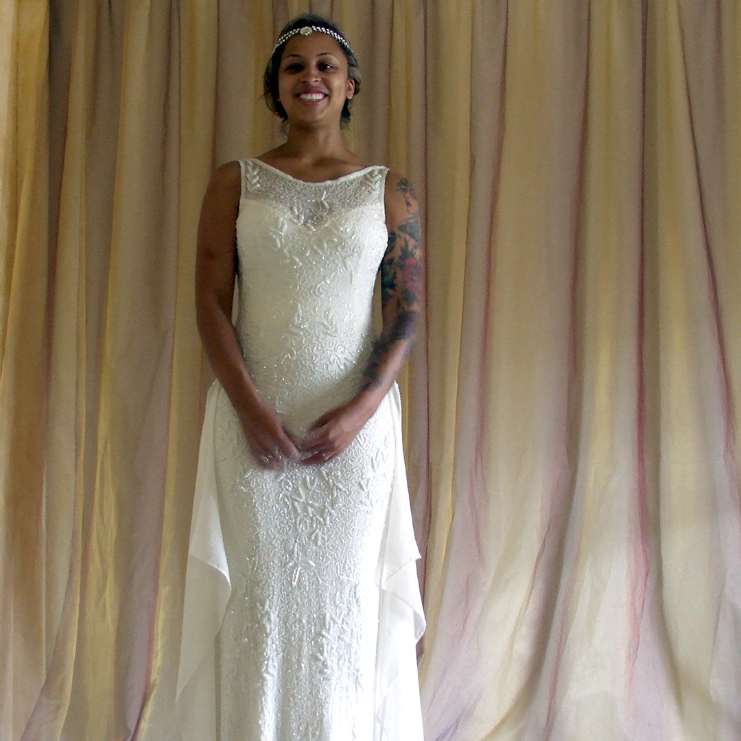 Vintage Wedding Gown Restyling